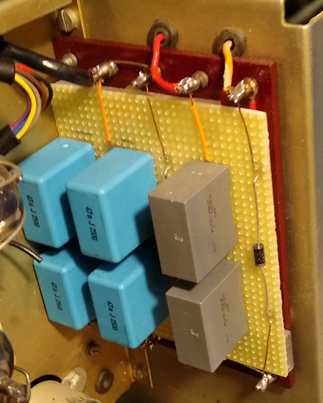 D43 high voltage supply replacement